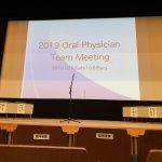 オーラルフィジシャンチームミーティング2019