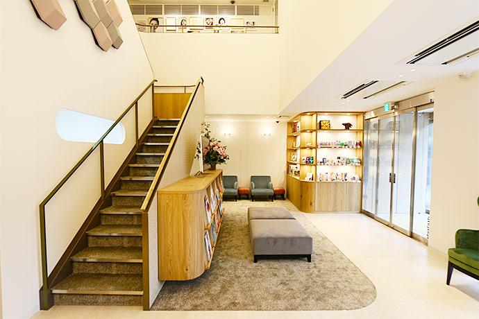 京都市左京区 おおくぼ歯科クリニック 1階待合室