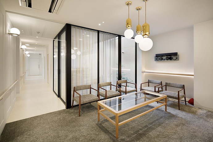 京都市左京区 おおくぼ歯科クリニック 2階待合室