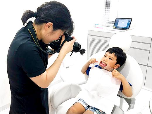 京都市左京区 おおくぼ歯科クリニック 子供の診療の流れ