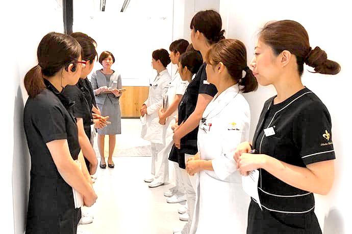 京都市左京区 おおくぼ歯科クリニック スタッフミーティング