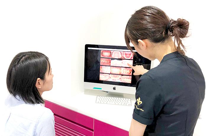 京都市左京区 おおくぼ歯科クリニック 歯の状態記録閲覧