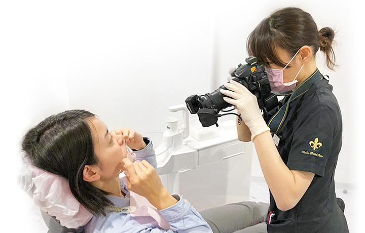 京都市左京区 おおくぼ歯科クリニック 歯の状態記録撮影